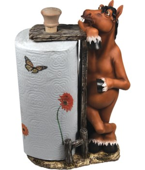 Paper Towel Holder - Horse 16 in.