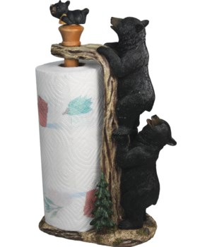 Paper Towel Holder - Bear 16 in.
