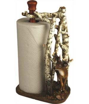 Paper Towel Holder - Deer 16 in.
