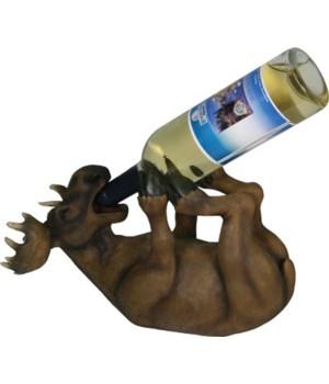 Wine Bottle Holder - Moose