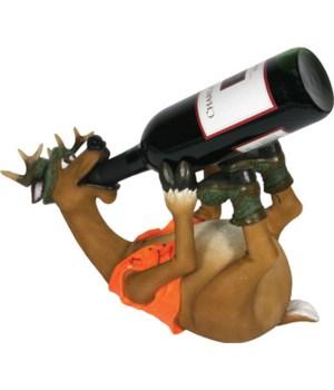 Wine Bottle Holder - Deer