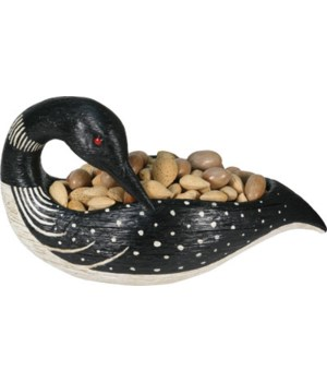 Candy Dish - Loon 14 in.
