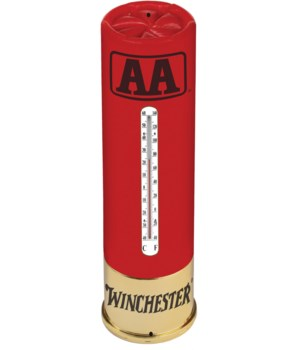 Tin Thermometer - Winchester AA 5 x 17 in.