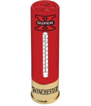Tin Thermometer - Winchester Super-X 5 x 17 in.