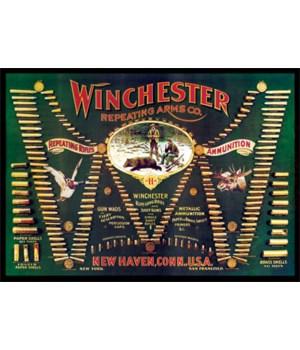 Door Mat Woven 52in x 37in - Winchester Double W