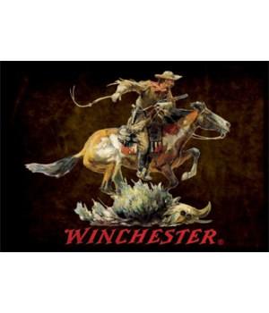 Door Mat Woven 52in x 37in - Winchester Horse Rider Dark