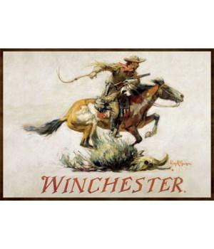 Door Mat Woven 52in x 37in - Winchester Horse Rider Light