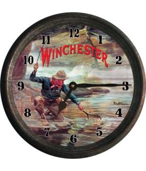 Clock 15 in - Fisherman