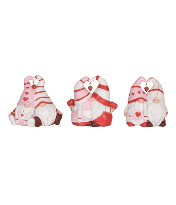 Res Valentine Gnome Couple Fig 3 Asst