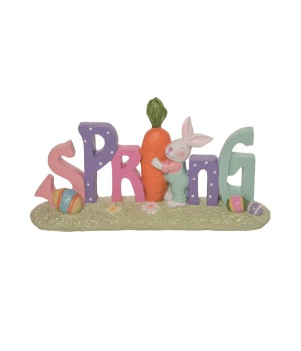 Res Spring & Bunny Decor