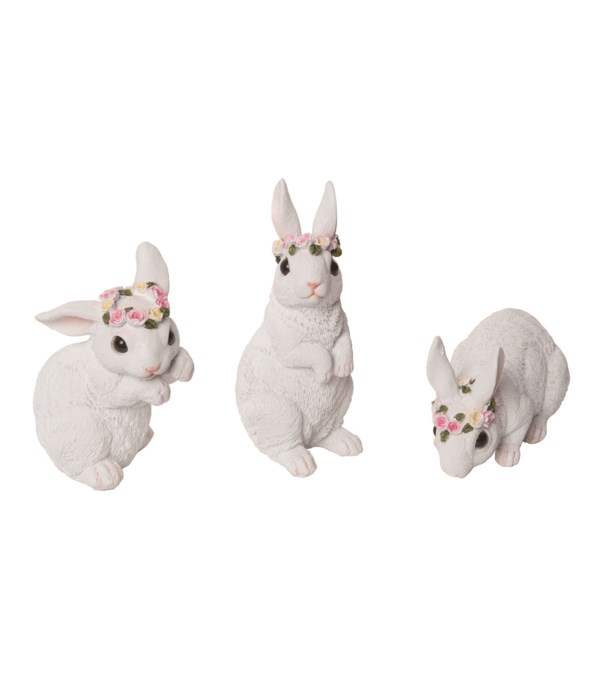 Res Sweet Bunny Fig 3 Asst
