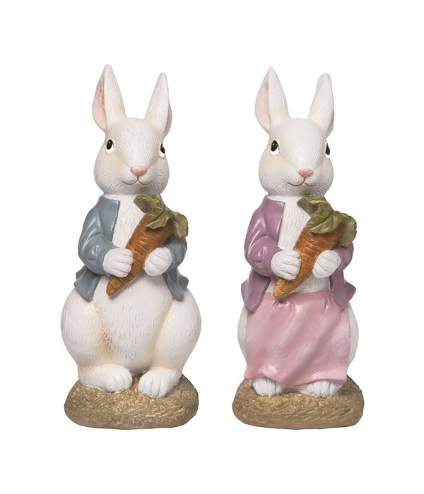 Res Carrot Bunny Fig S/2