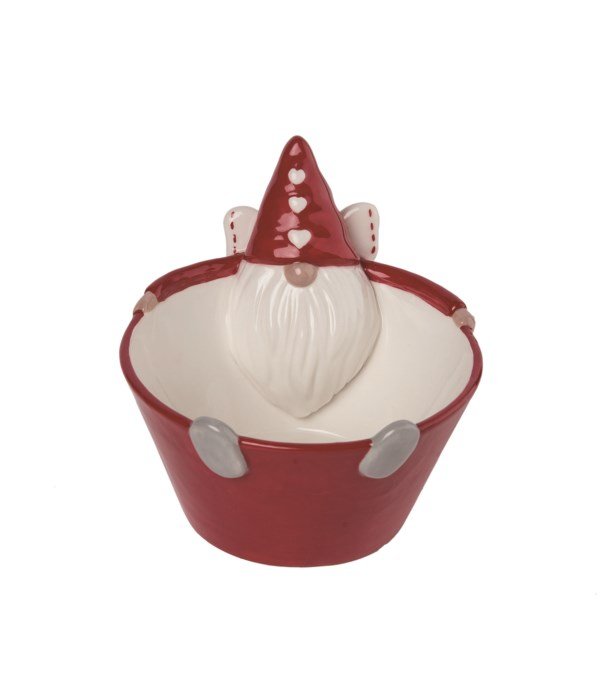 Dol Cupid Gnome Hugging bowl