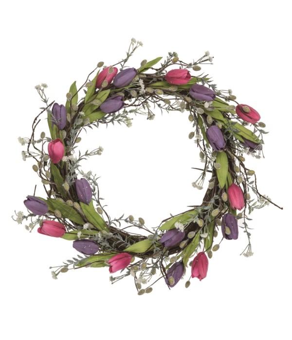 Tulip & Twig Wreath