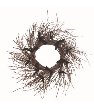 Twig Bat Wreath