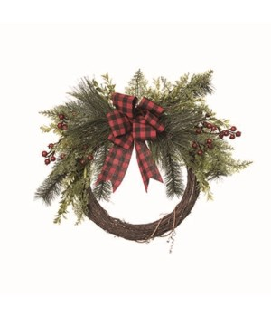 Twig & Greenery Wreath