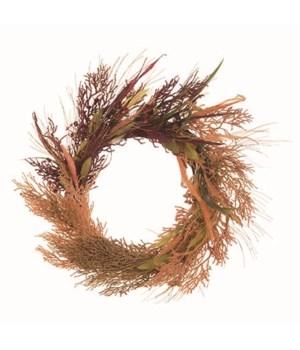 Harvest Deep Color Wreath