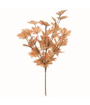 Golden Autumn Leaf Spray