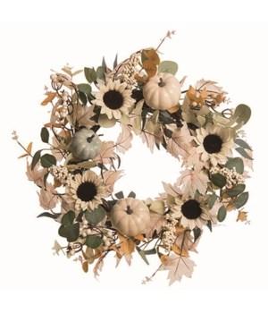 Elegant Autumn Wreath
