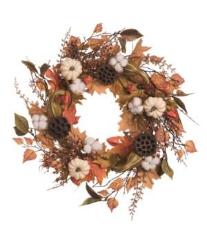 Autumn Home & Hearth Wreath