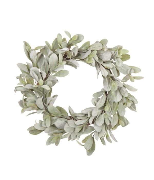 Lg Lambs Ear Wreath