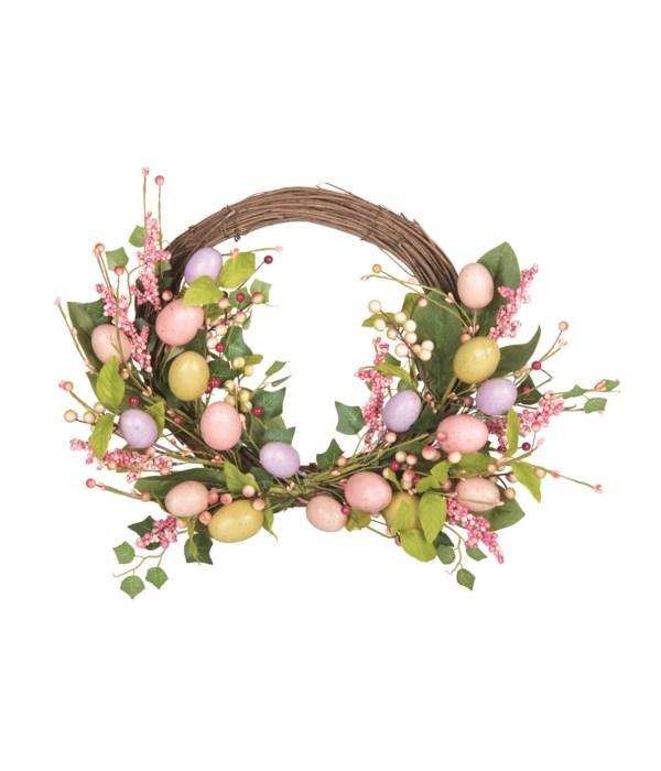 Easter Egg & Twig Wreath