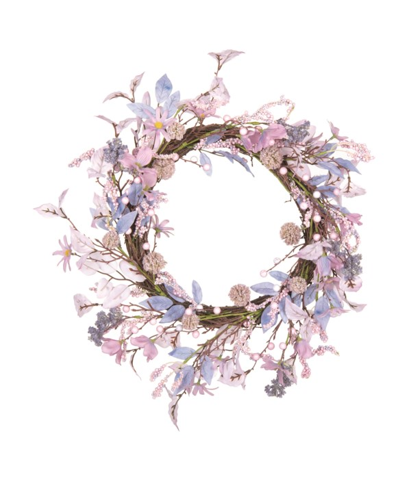 Floral Ethereal Lavender Wreath