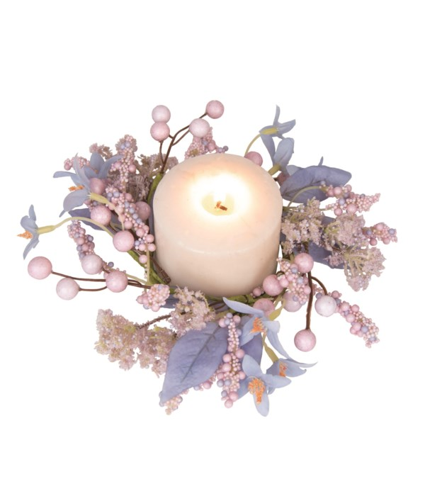 Floral Ethereal Lavender Candle Ring