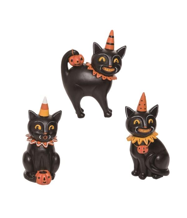Res Black Cat Jack Collector Trio 3 Asst