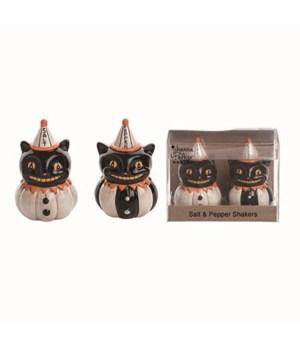 Dol Black Cat S/P In Box S/2