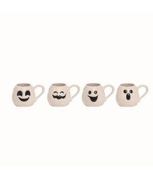 Dol Ghost Face Mug 4 Asst