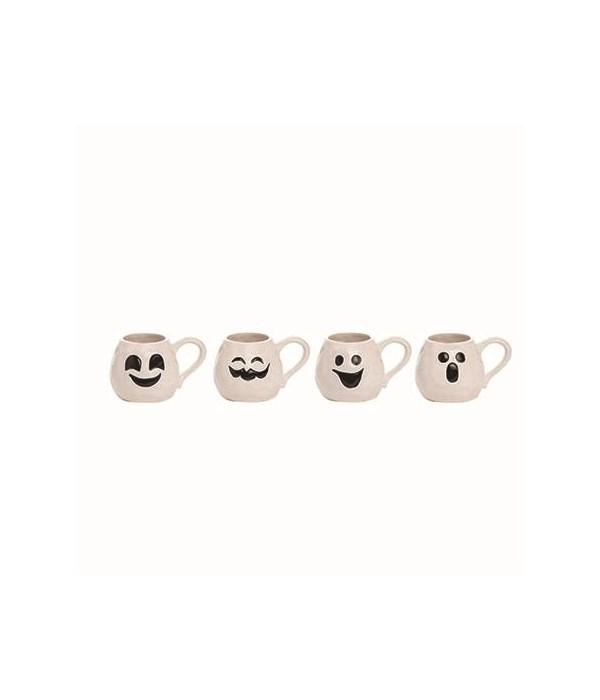 Dol Ghost Face Mug 4 Asst