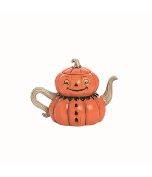 Dol Jack-O-Lantern Tea Pot