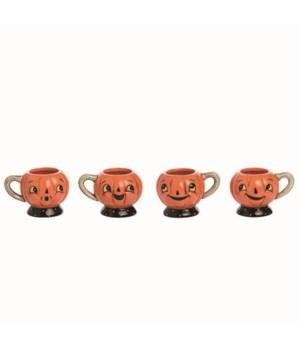 Dol Jack-O-Lantern Tea Cup 4 Asst