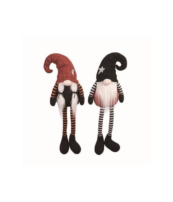 Plush Gnome w/Hat Shelf Sitter 2 Asst