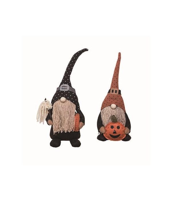 Plush Gnome w/Pumpkin Sitter 2 Asst