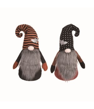 Plush Gnome w/Hat Sitter 2 Asst