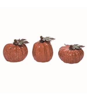 Dol Speckle Pumpkin 3 Asst