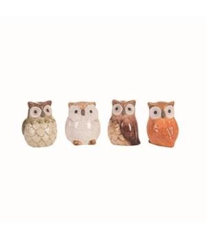 Sm T/C Owl Fig 4 Asst
