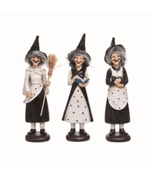 Res Fuzzy Hair Witch Fig 3 Asst