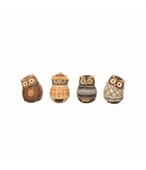 Res Owl In Sweater Fig 4 Asst