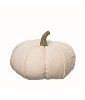 Lg Plush Autumn Pumpkin