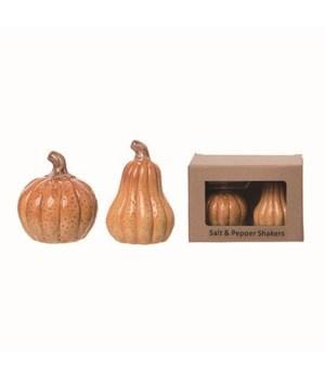 Dol Pumpkin S/P w/Box S/2