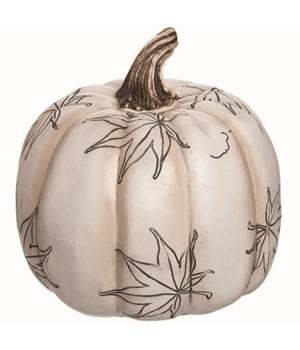 Lg Res Leaf Press Pumpkin Decor