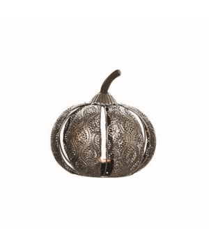 Sm Metal Die Cut Pumpkin C/H