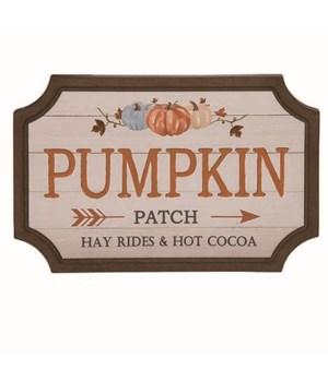 MDF Pumpkin Patch & Hay Rides Sign