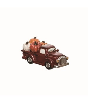Res Classic Pumpkin Truck Decor
