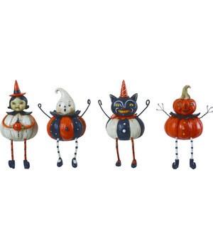 Res Pumpkin Peeps Shelf Sitter 4 Asst