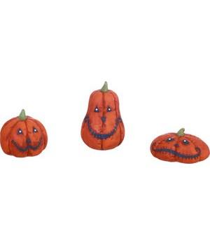 Res Stitch Pumpkin Figs S/3