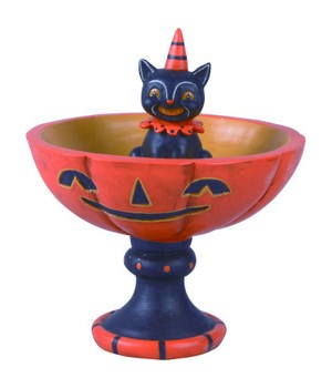 Res Black Cat Treat Stand